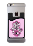 Pink Hamsa Card Caddy