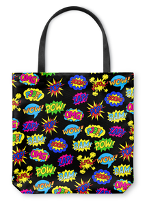 Pop Art Camo Tote Bag