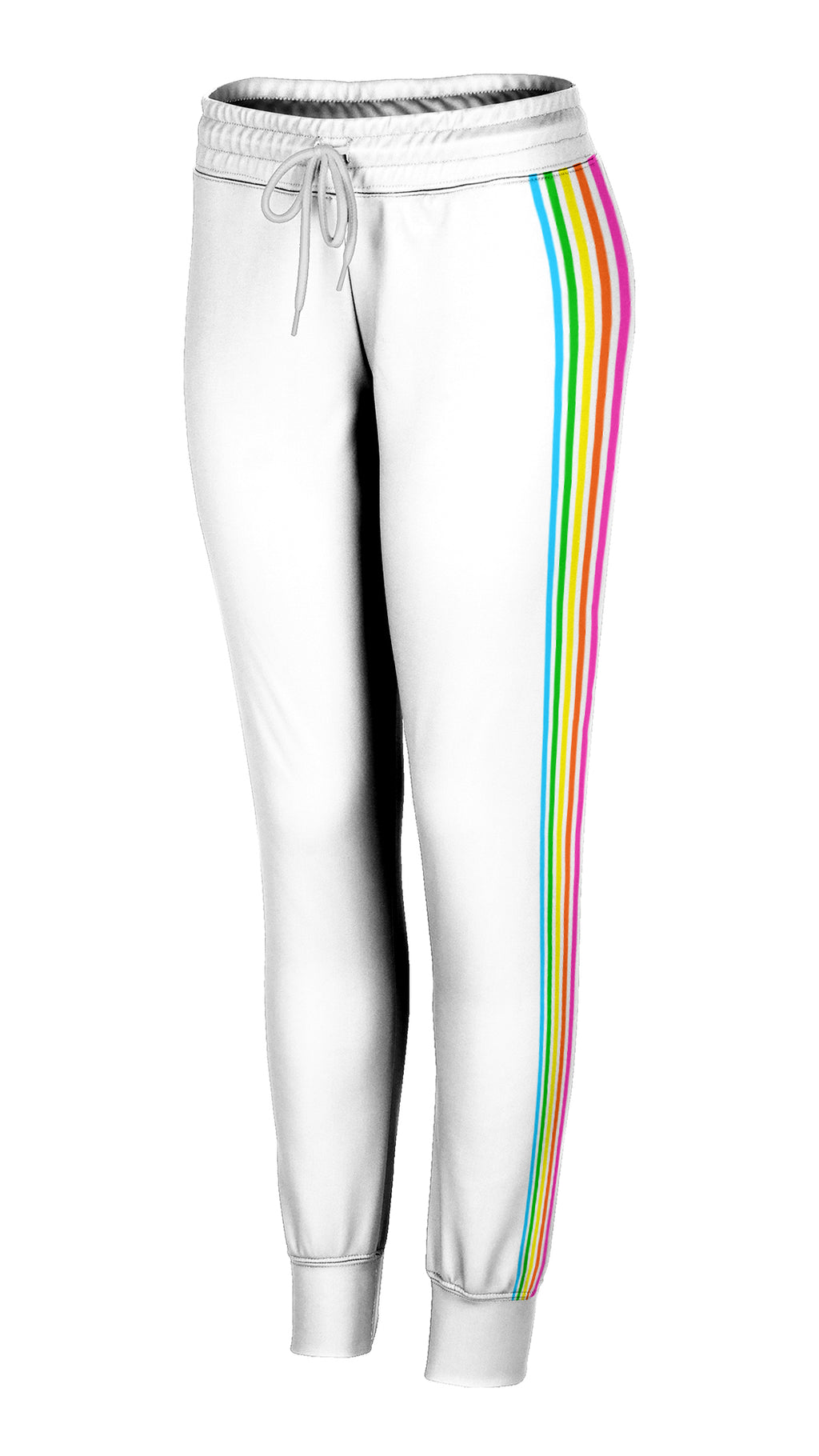 Rainbow Side Striped Joggers