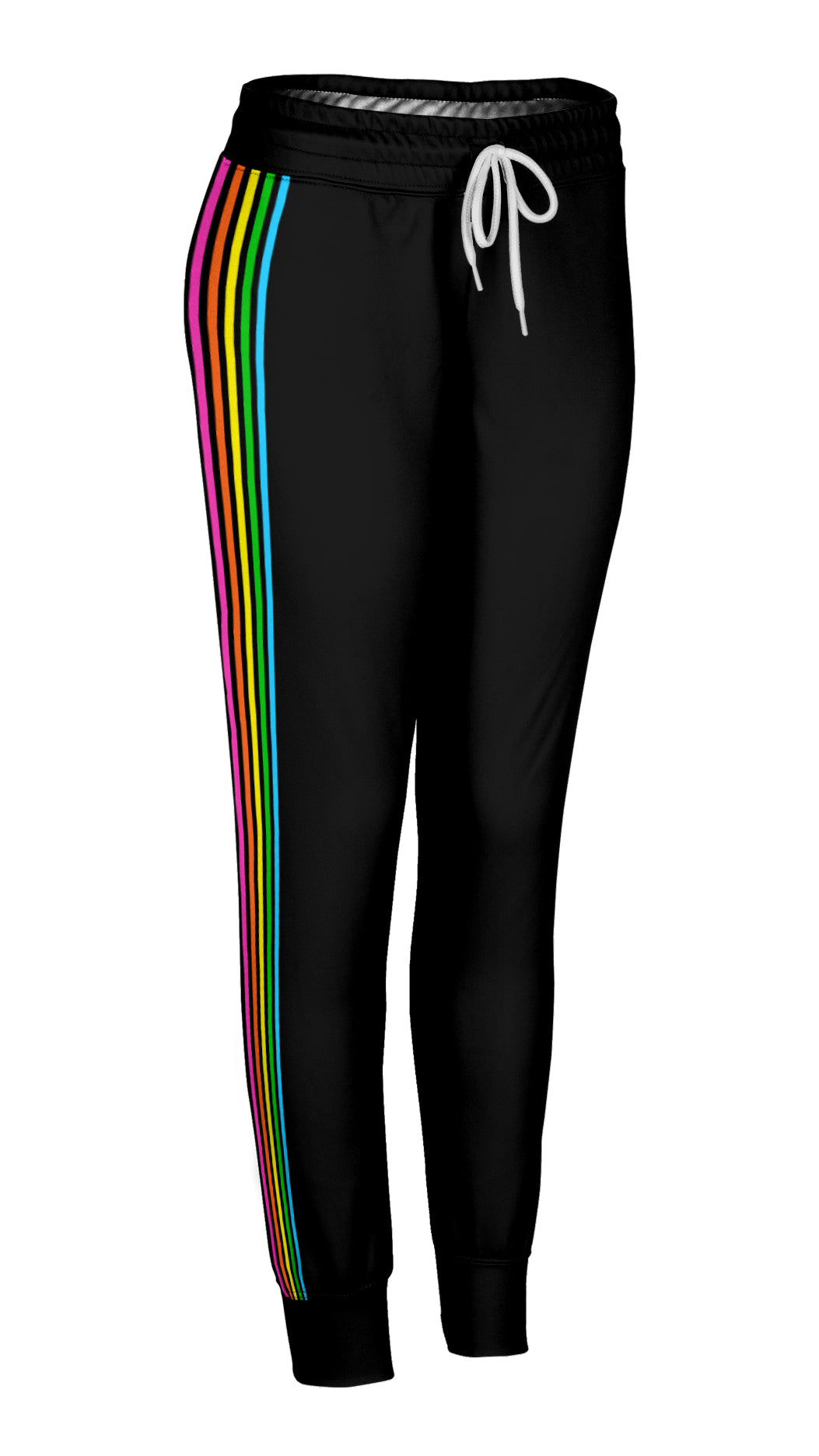6e07532f Rainbow Side Striped Joggers