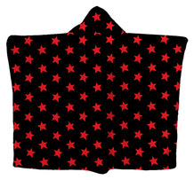 Red All-Star Hoodie Blanket