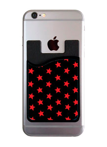Red & Black All Star Card Caddy