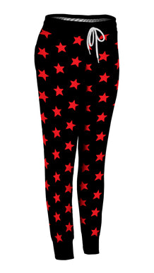 Red & Black All-Star Joggers