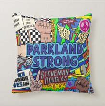 Parkland Strong Throw Pillow