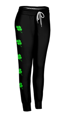 Side Shamrocks Joggers