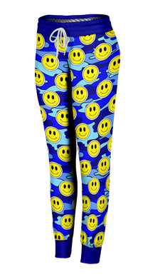 Smiley Blue Camo Joggers