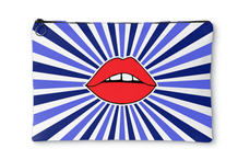 Starburst Lips Accessory Pouch