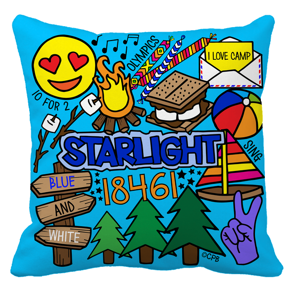 Starlight Throw Pillow Case