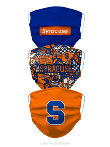 Syracuse University Face Mask Cover Pre-Pack