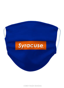 Syracuse University Face Masks