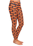 Syracuse Block Pattern Leggings