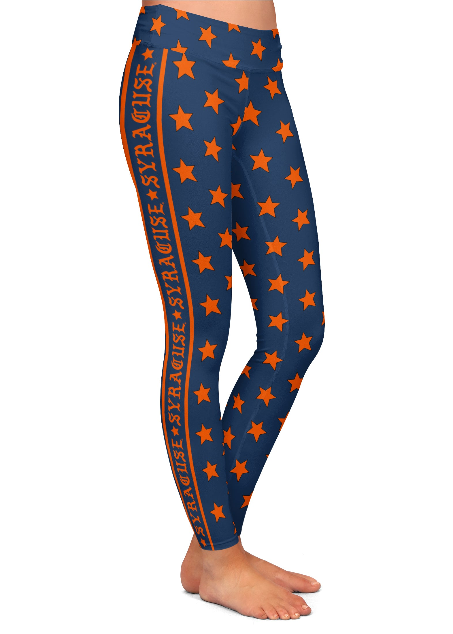 Syracuse Gothic Side Stripe All-Star Leggings