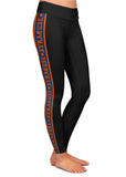 Syracuse Gothic Side Stripe Black Leggings