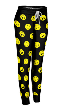Tilted Smiley Joggers