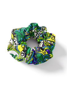 Tulane Collage Scrunchie