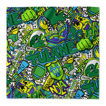 Tulane Collage Bandana