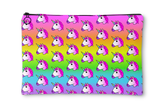 Unicorn Rainbow Ombre Accessory Pouch