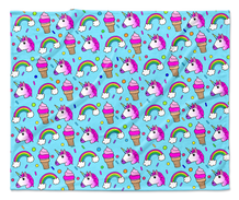 Unicorns & Rainbows Blanket