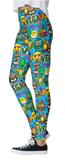 Camp Collage Leggings (N-Z)