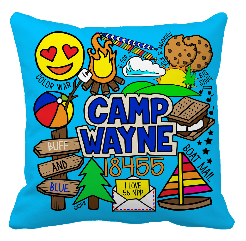 Camp Collage Pillows