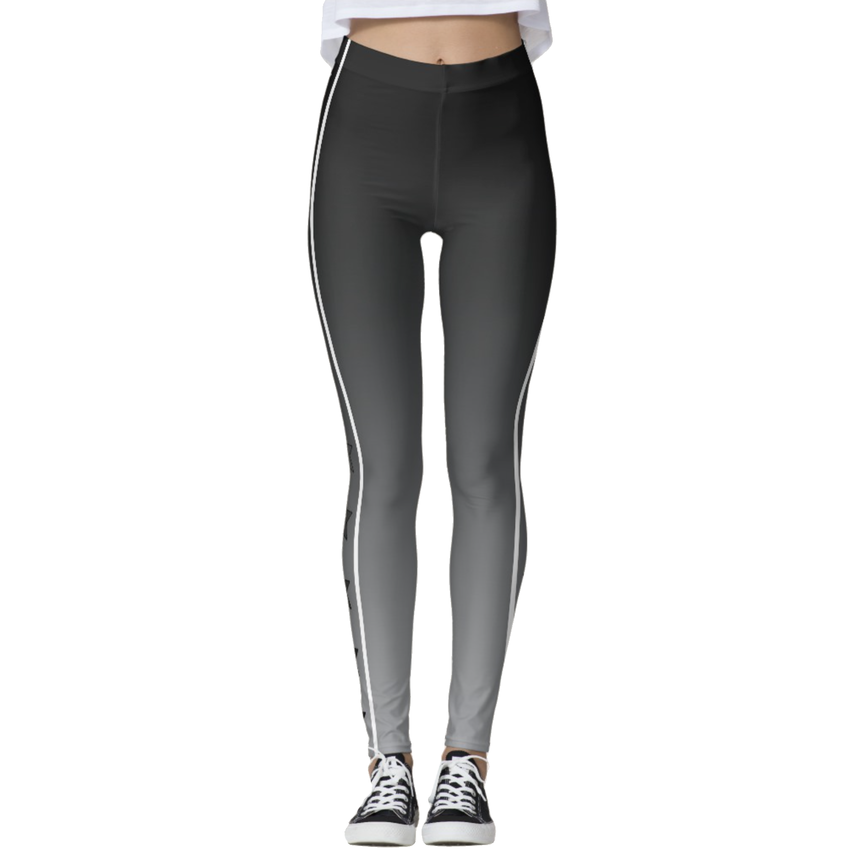 Gray Ombre Starbright Leggings
