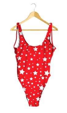 White Stars One-Piece Swimsuit