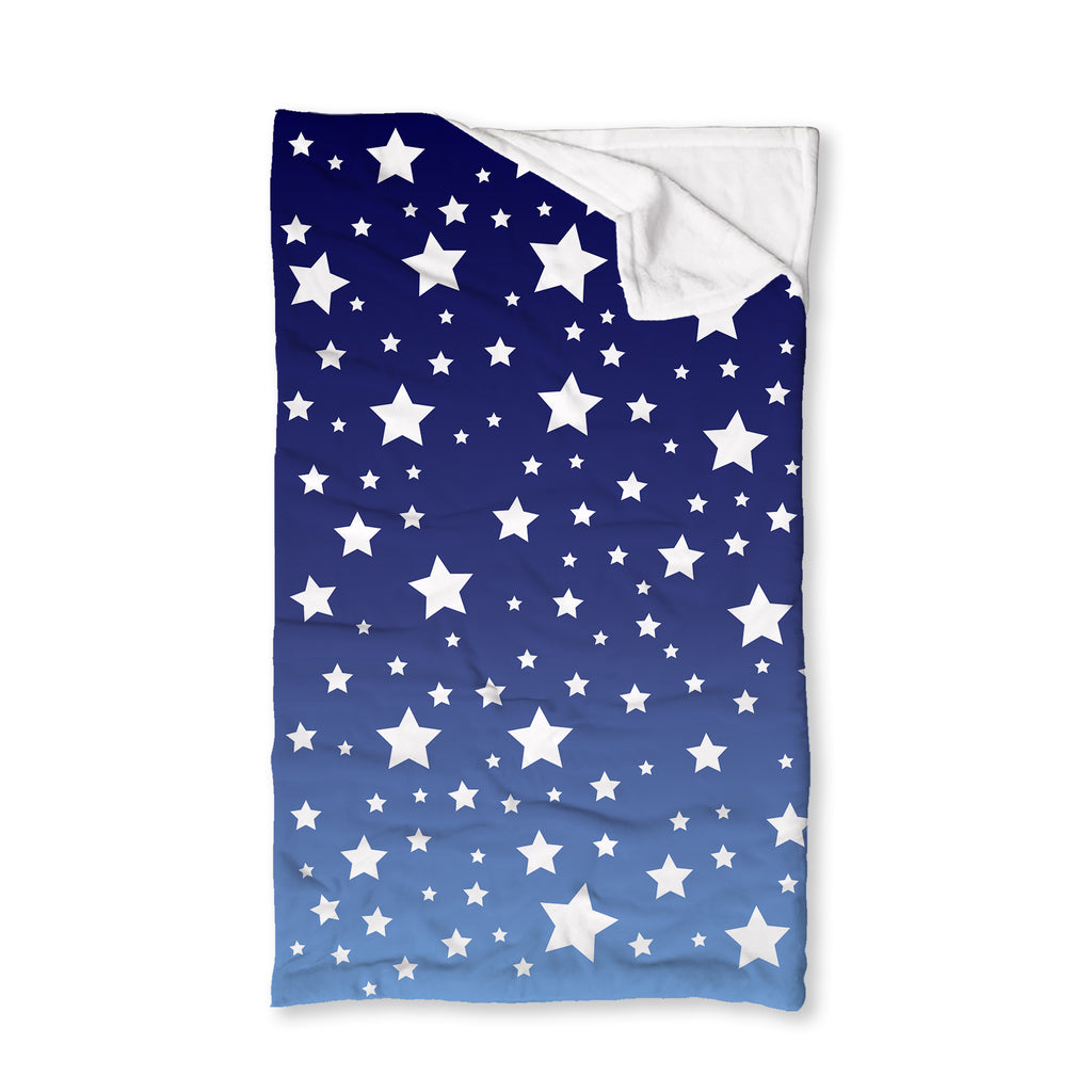 White Stars Ombre Sleep Sack