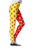Split Stars Leggings