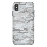 Light Gray Camo iPhone Case