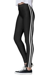 Double White Stripe Leggings