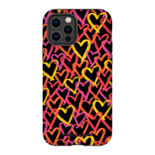 Graffiti Hearts Phone Case