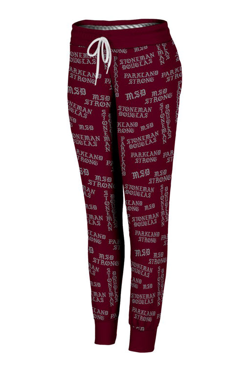 Parkland Strong Gothic Letters Women's Joggers