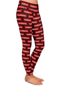 Indiana Block Pattern Leggings