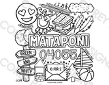 Camp Mataponi Coloring Sheet