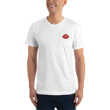 Lips Embroidered T-Shirt
