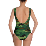 Green & Brown One-Piece