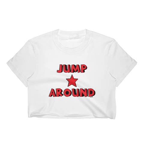 Jump Around Star Stacked Cropped T-Shirt