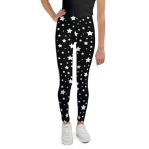 Black & White Stars & Stripes Youth Leggings