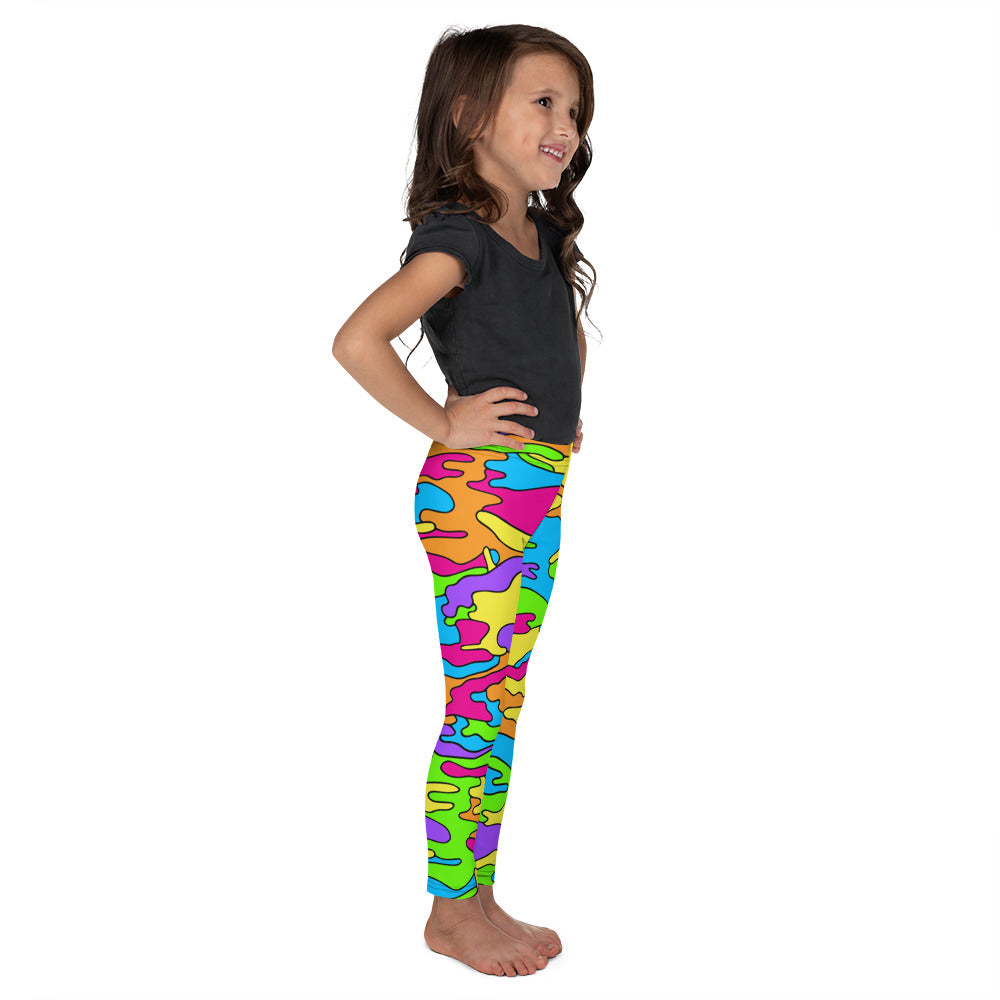 Rainbow Camo Kid's Leggings