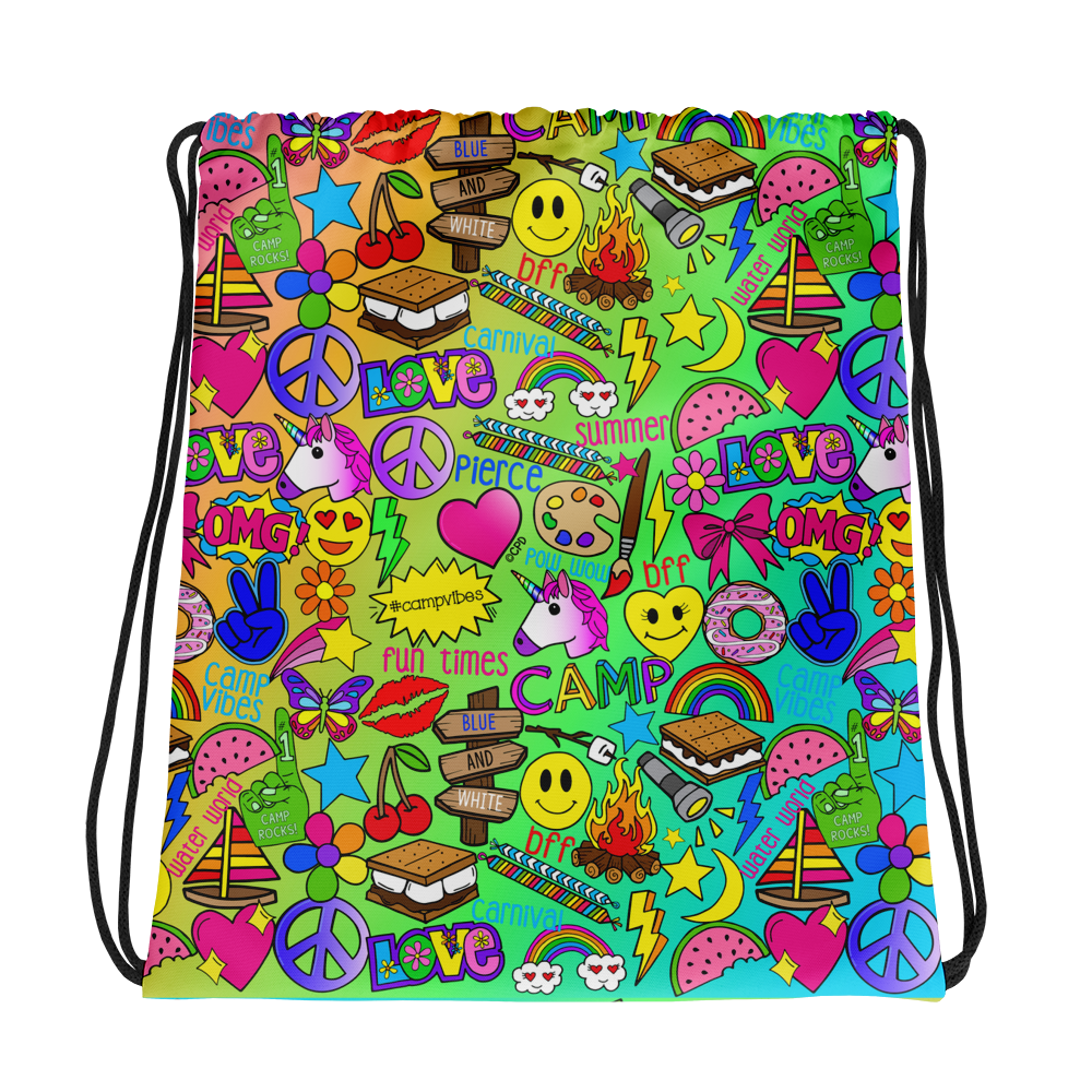 Camp Times - Pierce - Drawstring bag