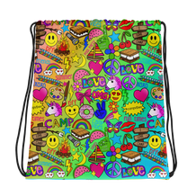 Camp Times Drawstring Bag