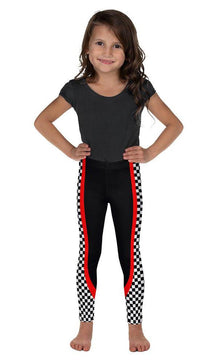 Racer Stripe Kid's Leggings