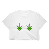 Double Weed Cropped T-Shirt