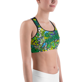 Tulane Collage Sports Bra