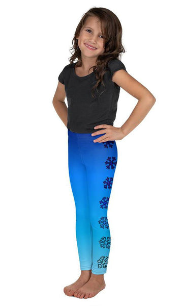 Side Snowflake Kid's Leggings