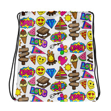 S'more Camp Drawstring bag
