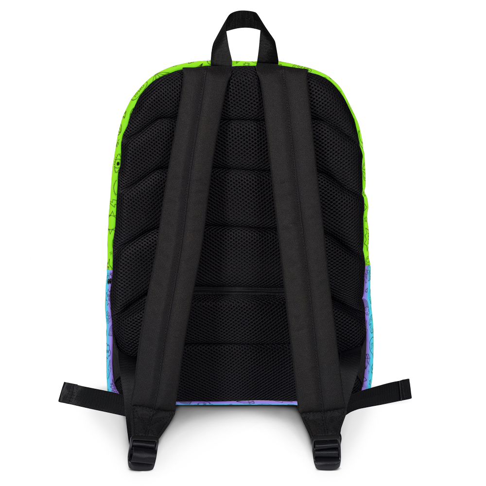 Doodle Icons Backpack