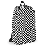 Checkered Backpack