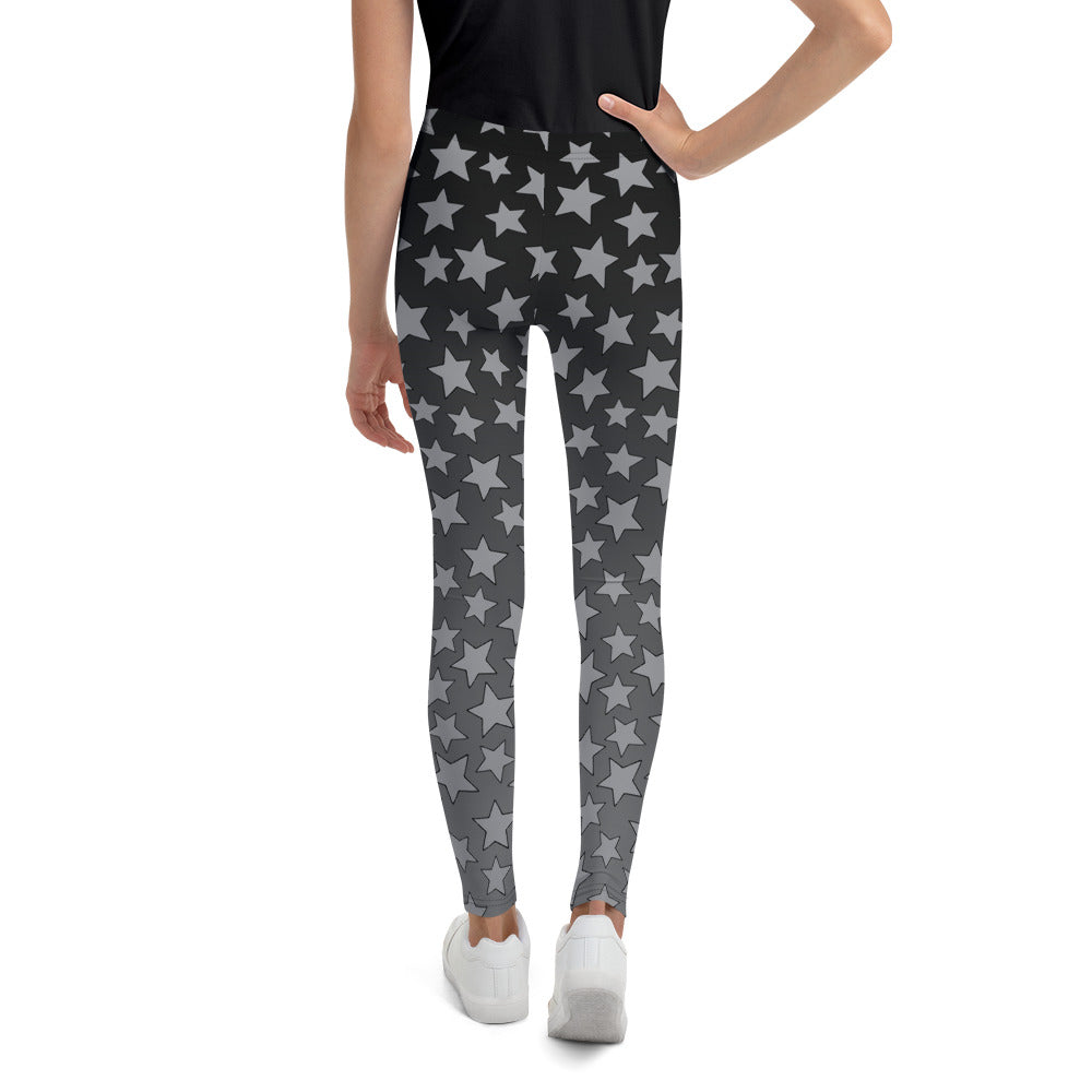 Gray Ombre Starry Youth Leggings