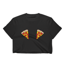 Double Pizza T-Shirt Crop Top